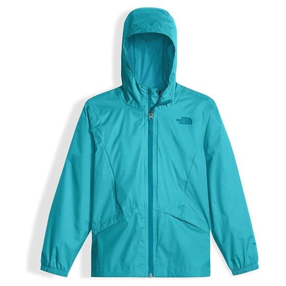 d31730937 Aqua North Face Girls Zipline Jacket NWT